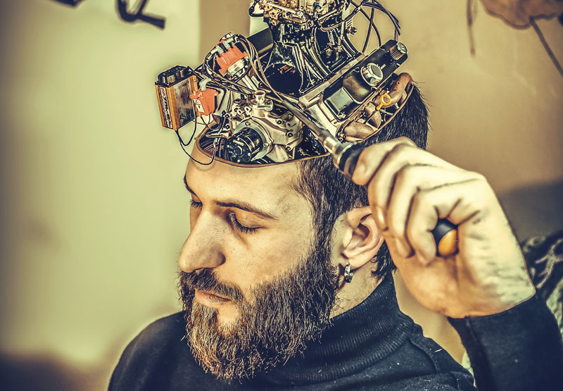 Did you know that your brain is actually wired to think negatively?