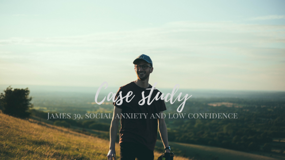 James 39: social anxiety and low confidence