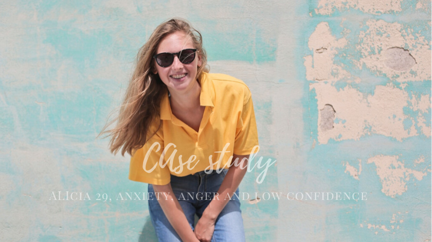 Alicia 29: anxiety, anger and low confidence
